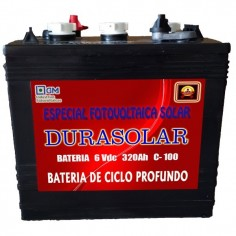 Batería DURASOLAR 6V/320Ah...