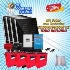 Kit solar con baterías...