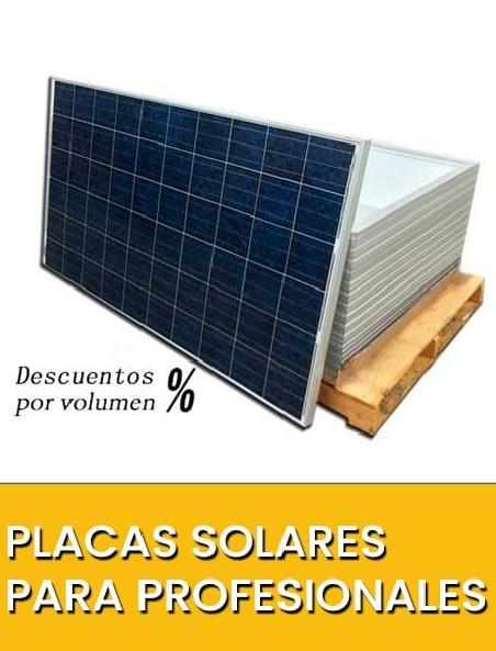 Placas Solares para profesionales