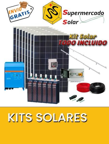 Kits con Placas Solares
