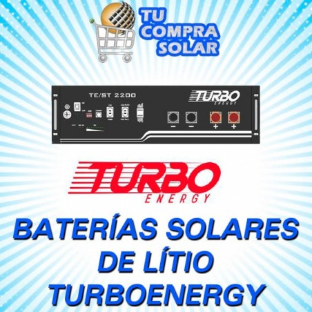 Baterias de litio solares Turbo Energy