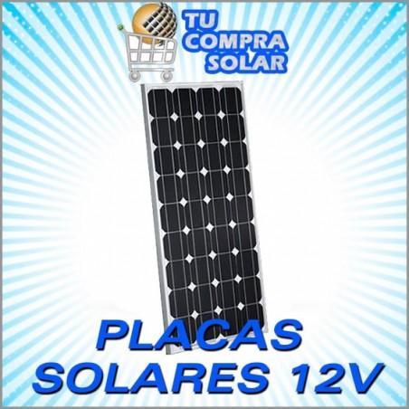 Placas solares de 12v