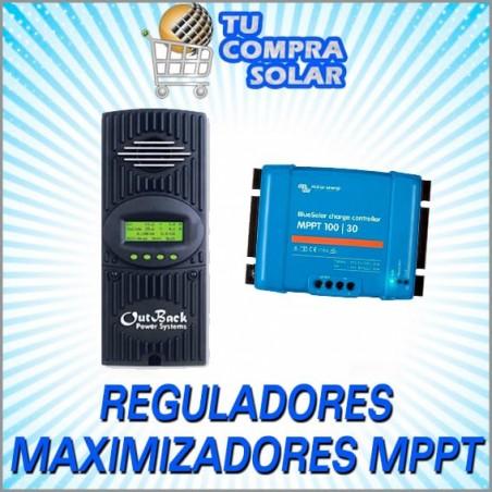Reguladores solares maximizadores MPPT