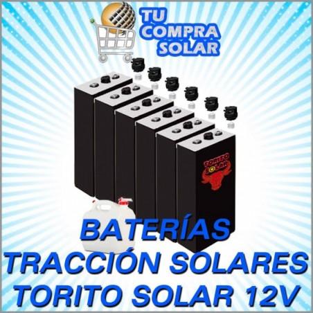 Baterías solares tracción Torito solar 12V
